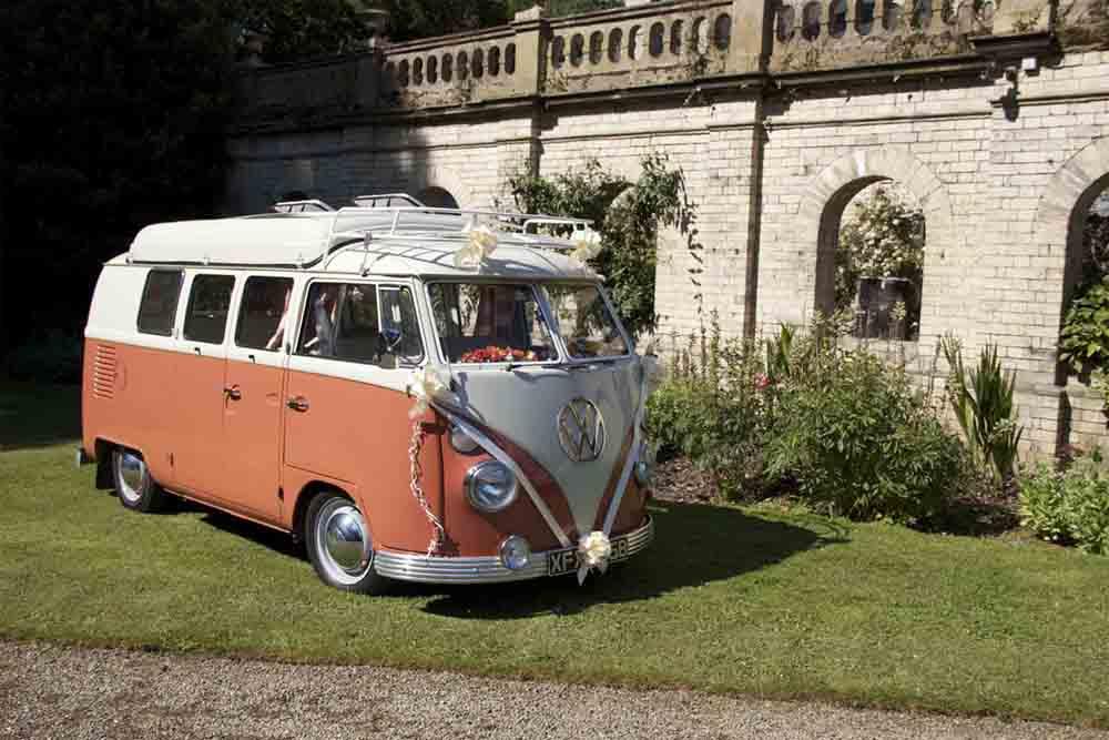 Vw Camper Wedding Cars In Yorkshire Vintage Wedding Day